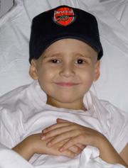 Finn in hospital
